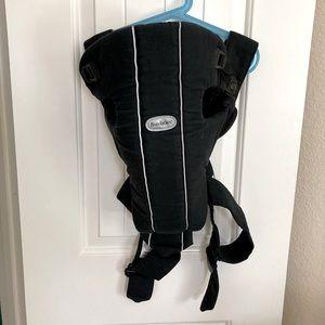 Baby Bjorn black infant carrier